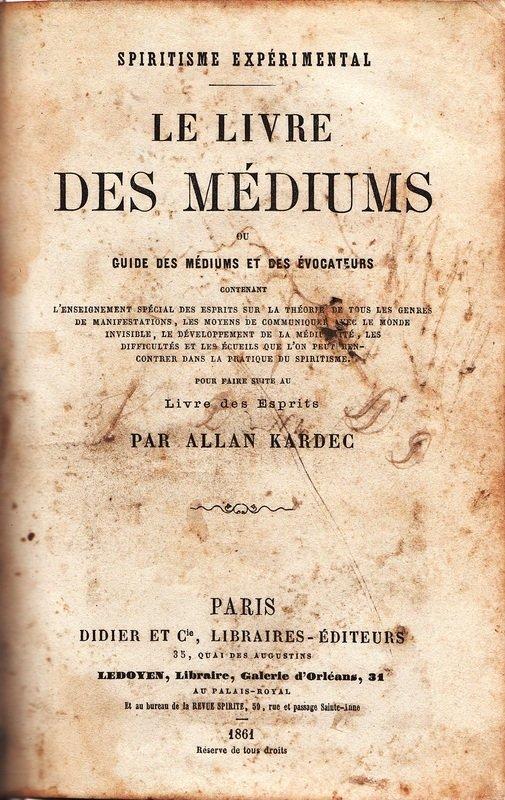 Pentateuco Kardequiano - O livro dos Médiuns