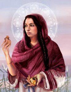 A feminilidade representada por Maria Magdalena