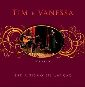 Capa do álbum Espiritismo em Canção de Tim e Vanessa