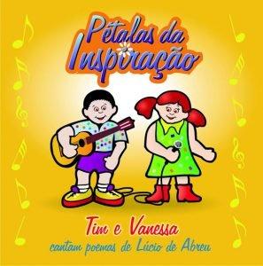 Capa de álbum Pétalas da Inspiração de Tim e Vanessa