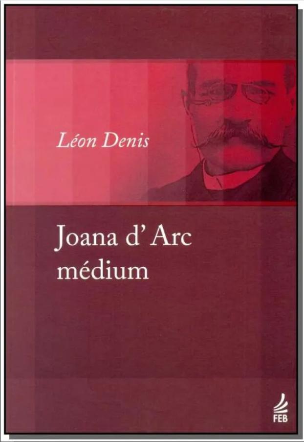 Capa do livro Joana d'Arc Médium