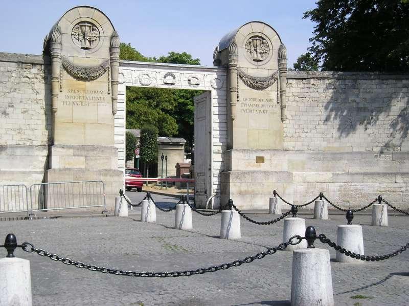 Cemitério do Père-Lachaise 1