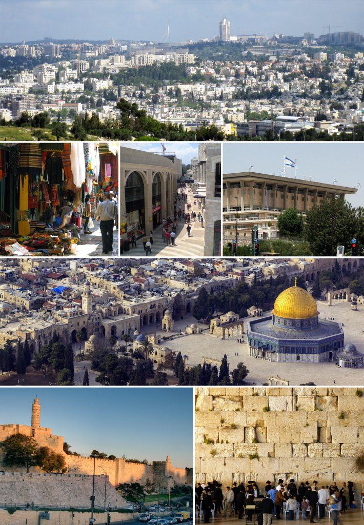 Várias imagens de Jerusalem